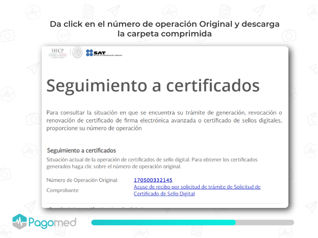 certificado de sello digital