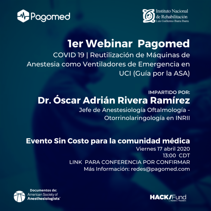 Webinar Anestesiología Pagomed